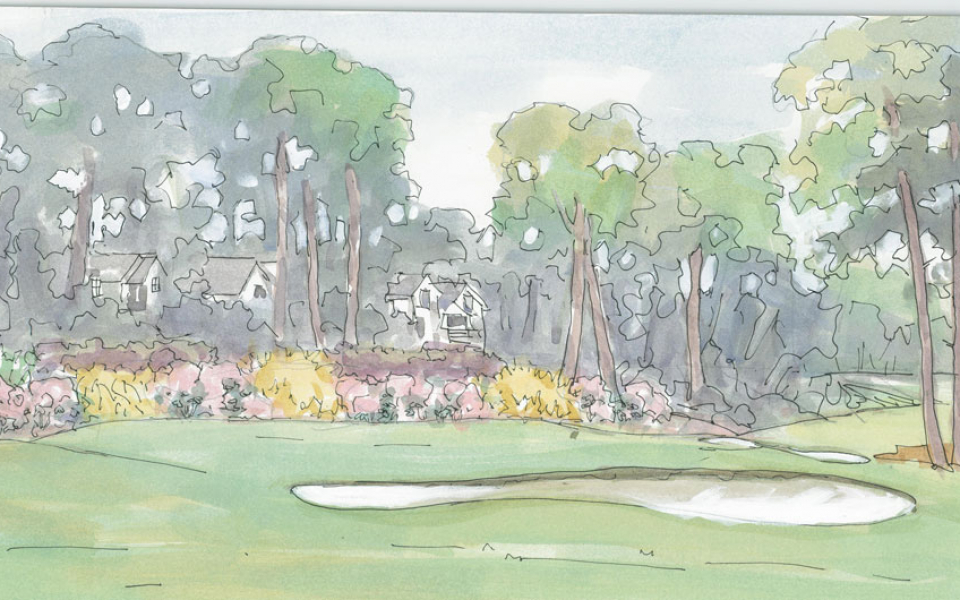 Ansley Golf Course Rendering