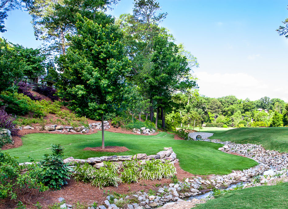Ansley golf course northway landscaping for Landscape design training